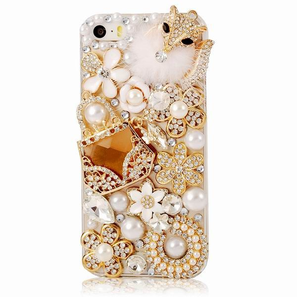 Diamond Handmade IPhone 5 Back Cover Case af14708bb3